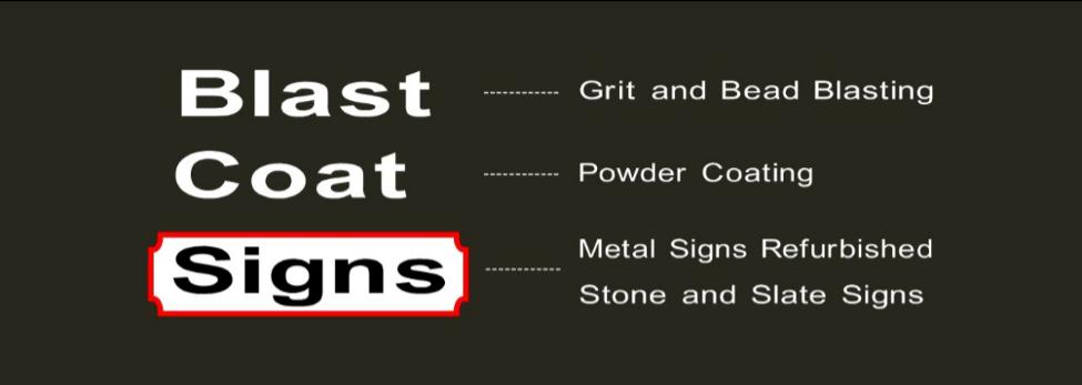 Blast Coat Signs