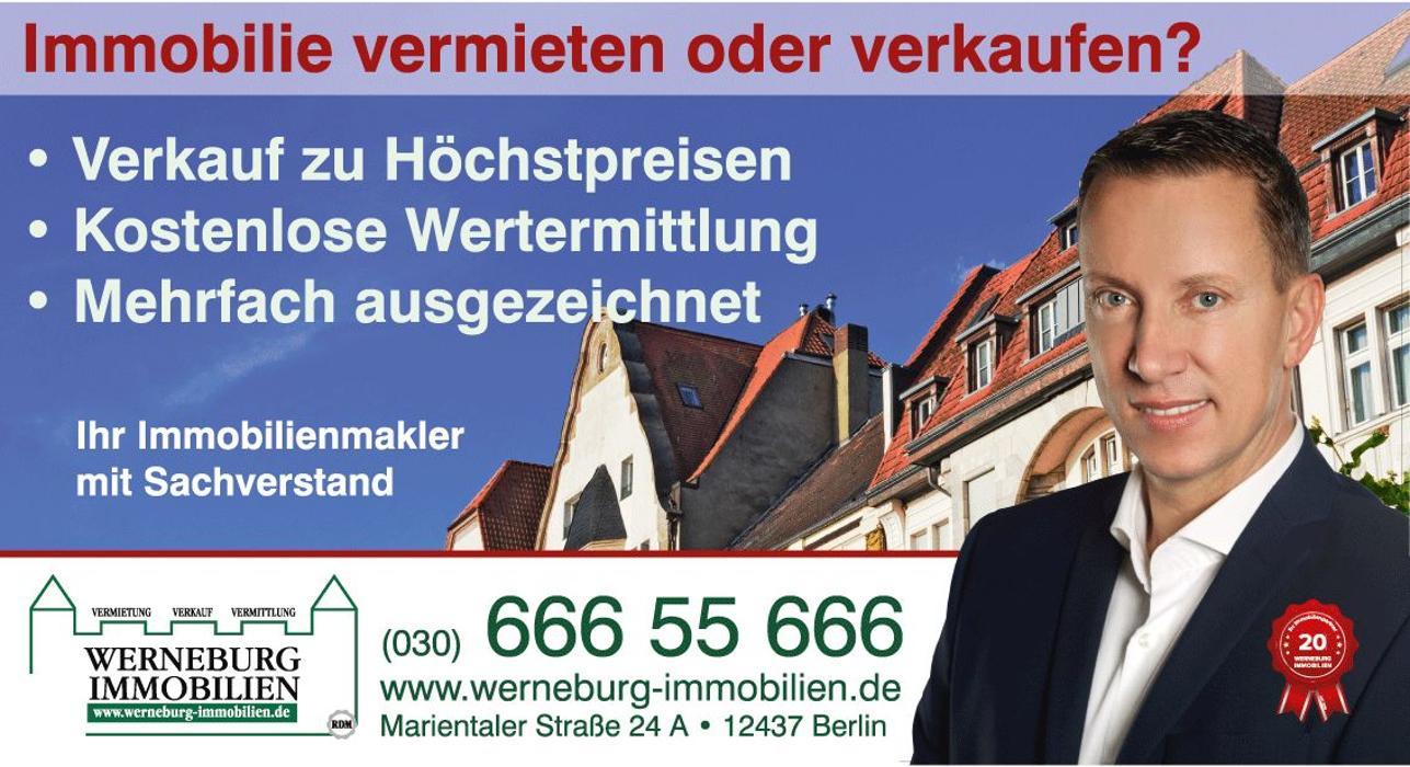 Bild zu WERNEBURG IMMOBILIEN in Berlin