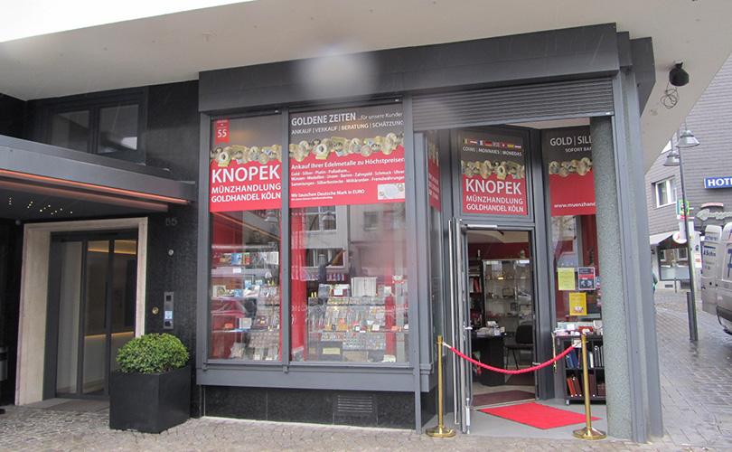 Münzen- & Medaillen-Galerie Köln Auktionshaus Knopek OHG