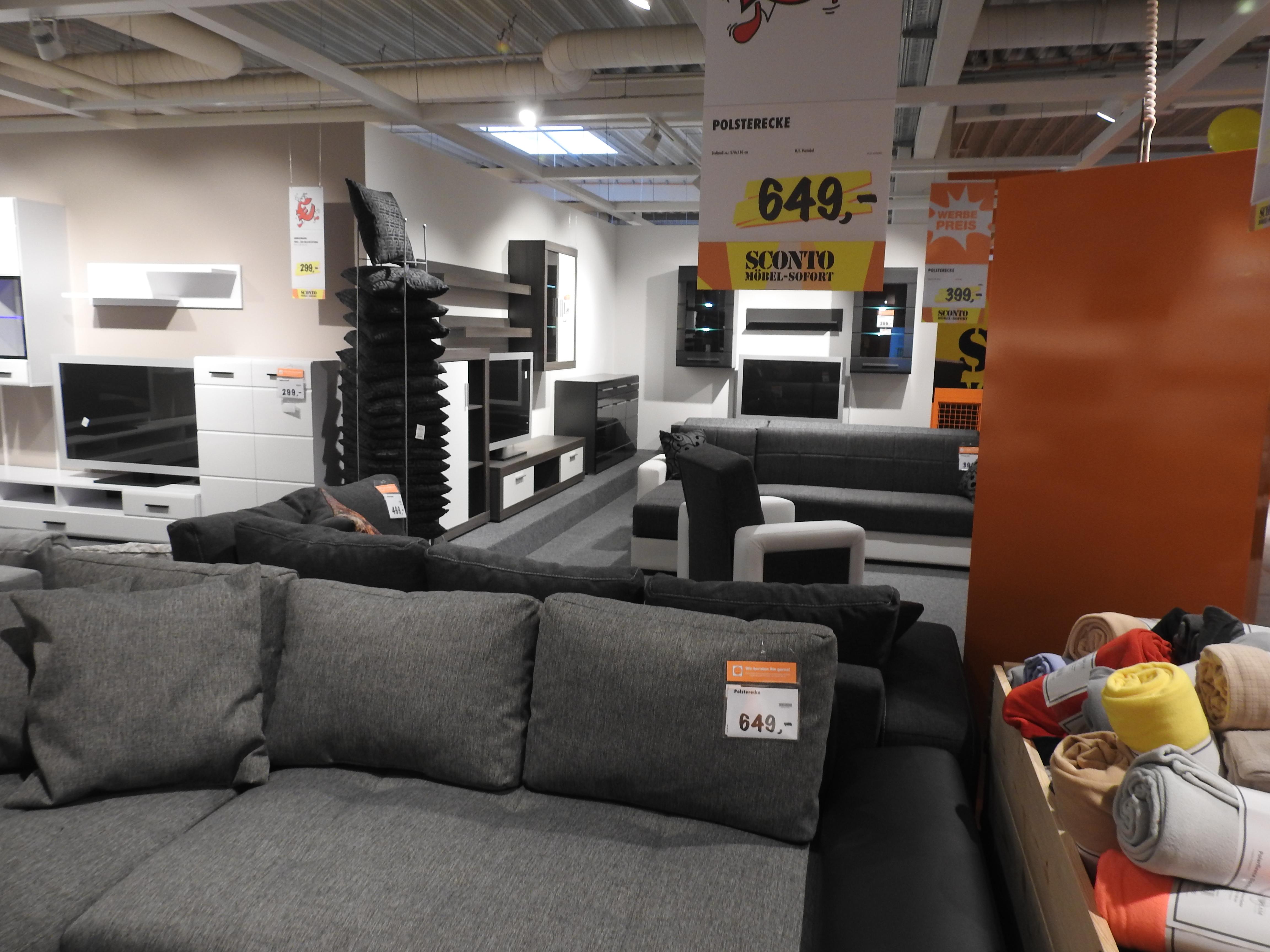 sconto sb der m belmarkt gmbh oststeinbek in oststeinbek branchenbuch deutschland. Black Bedroom Furniture Sets. Home Design Ideas