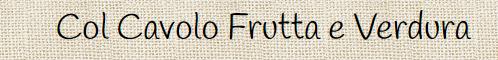 Col Cavolo Frutta e Verdura