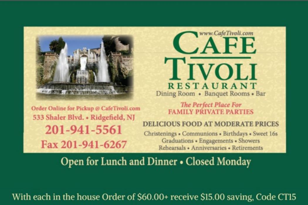 Cafe Tivoli - Ridgefield, NJ
