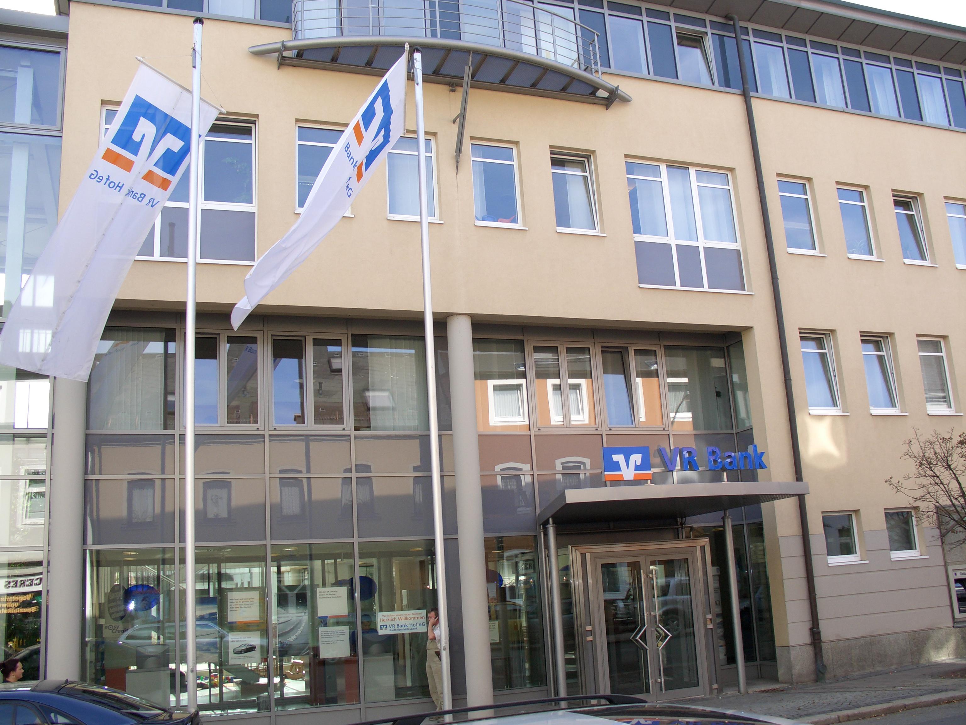 VR Bank Bayreuth-Hof eG Hauptstelle Hof