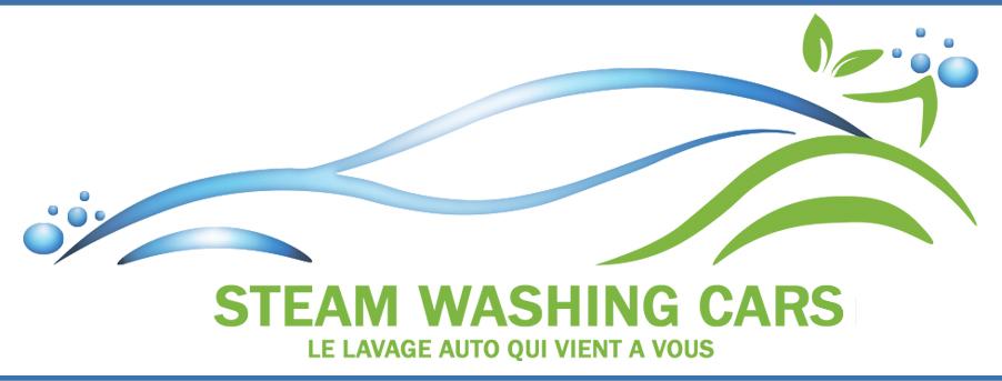 STEAM WASHING CARS