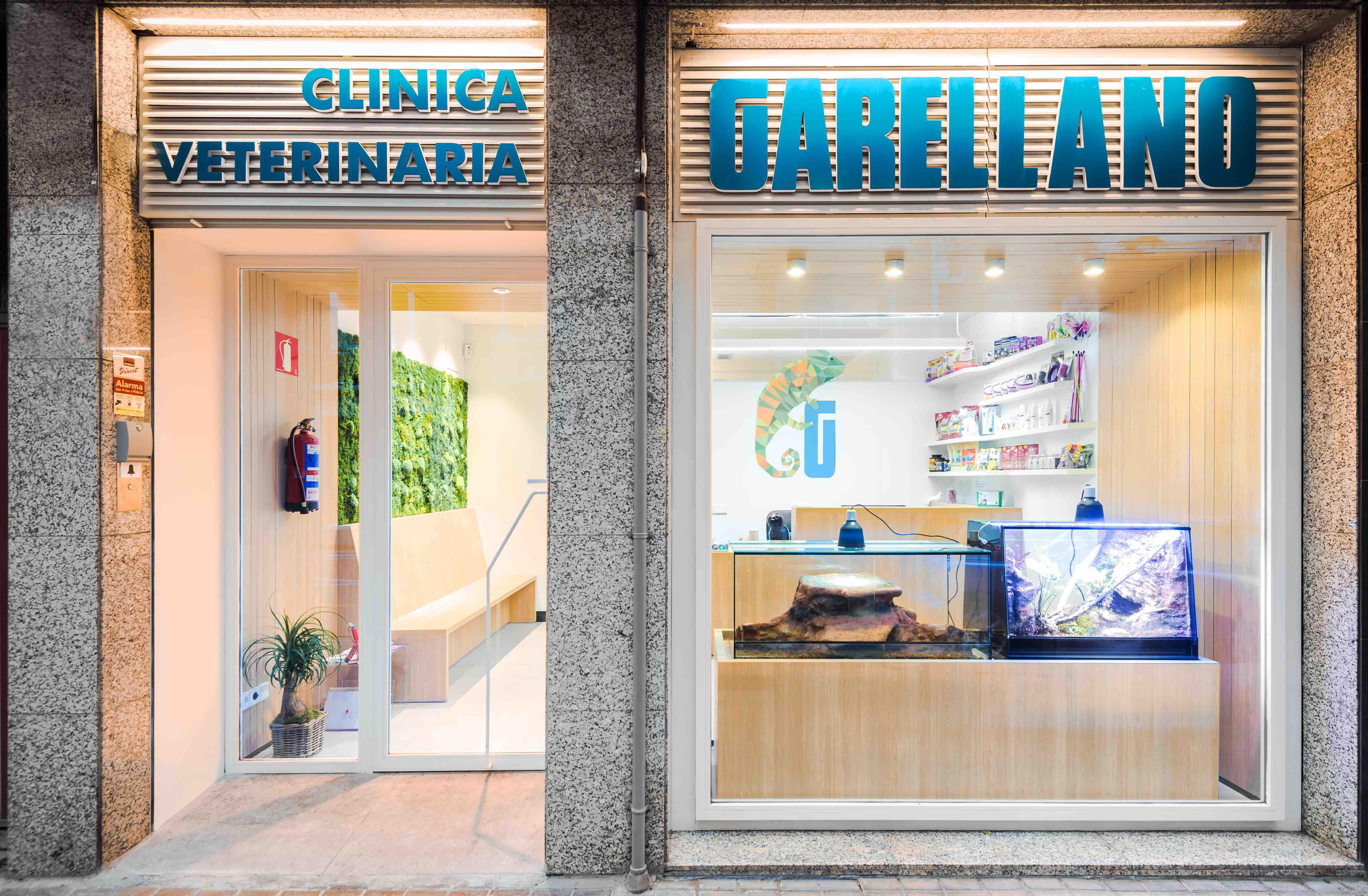 Clínica veterinaria Garellano