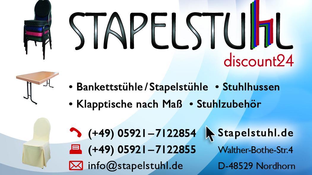 Stapelstuhl Discount 24 Nordhorn Walther Bothe Straße 4