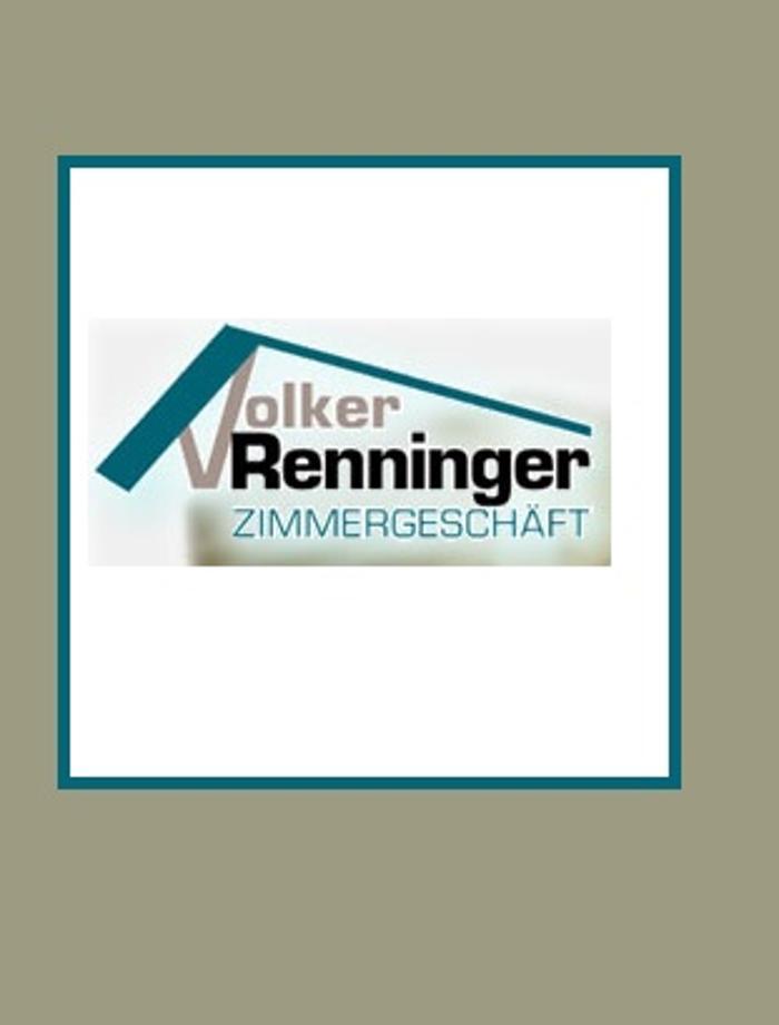 Bild zu Volker Renninger Zimmergeschäft e.K. in Ditzingen