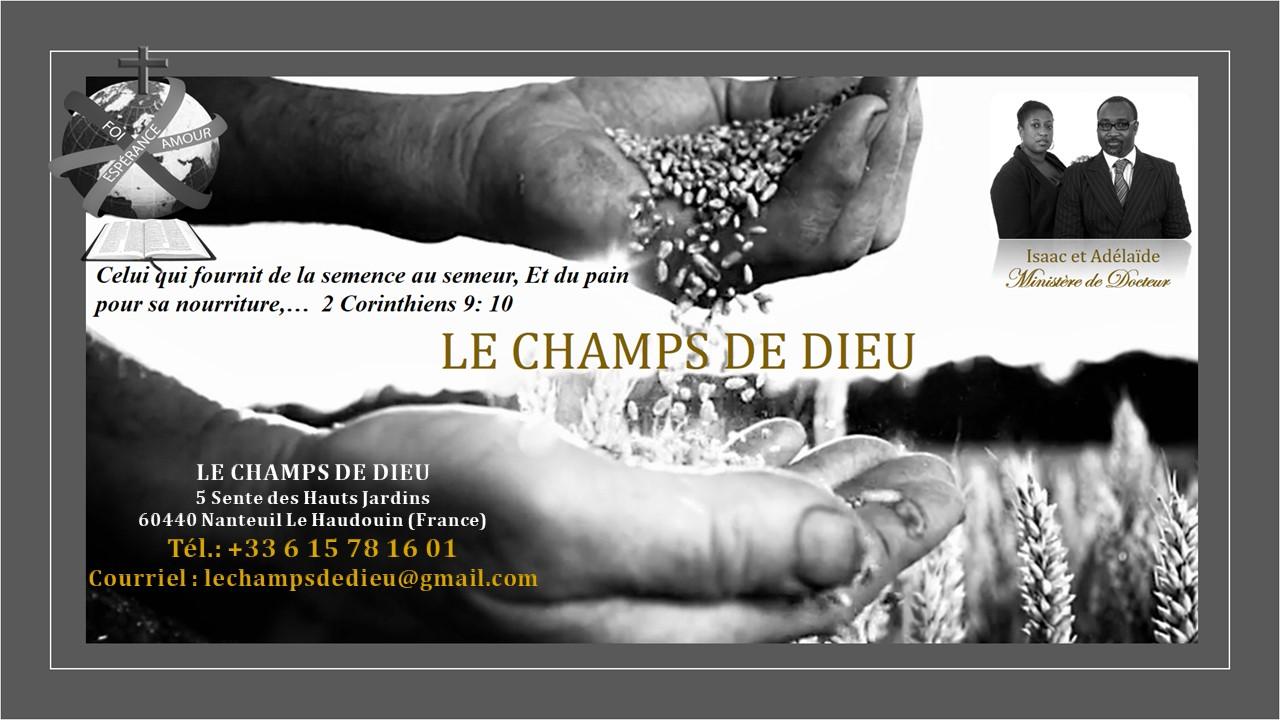 LE CHAMPS DE DIEU