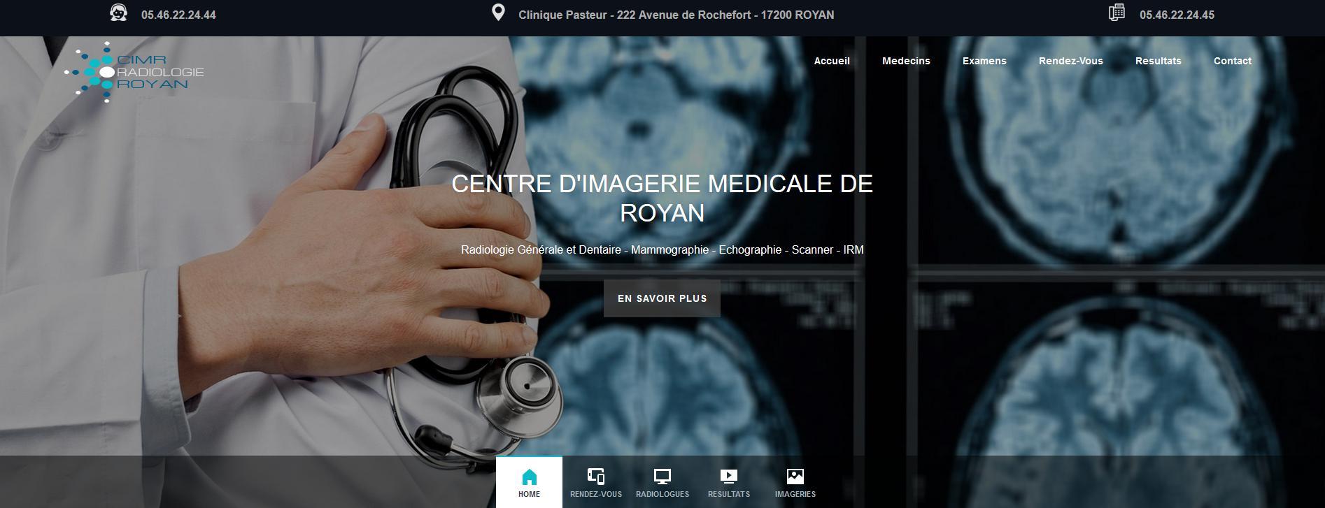CENTRE D'IMAGERIE MEDICALE DE ROYAN