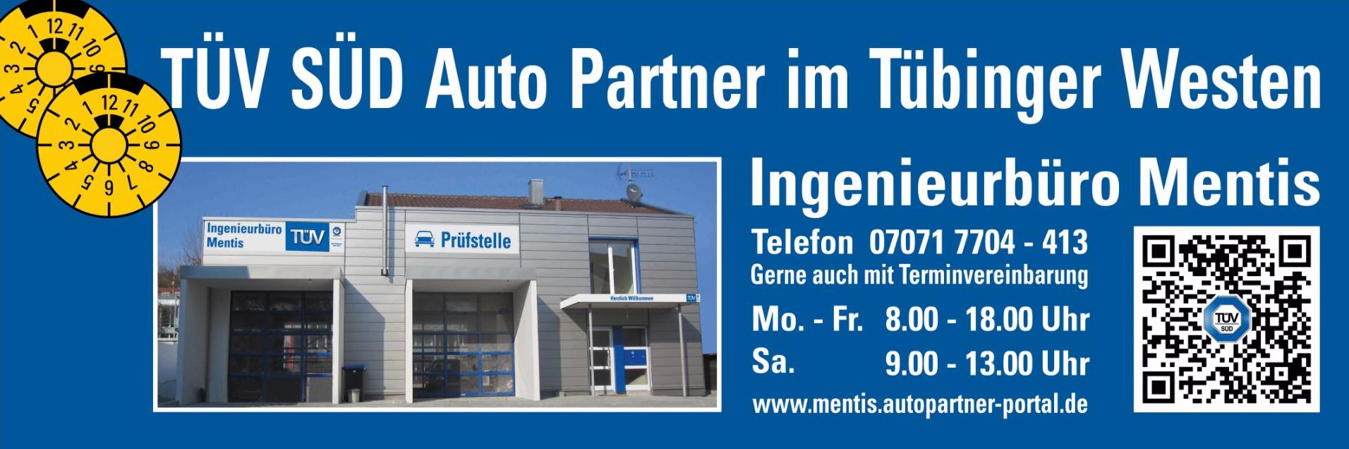 TÜV SÜD Auto Partner - Prüfstelle Tübingen