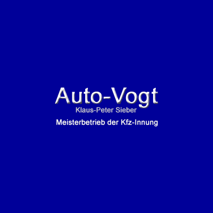 Bild zu Auto Vogt Inh. Klaus-Peter Sieber in Sulzbach im Taunus