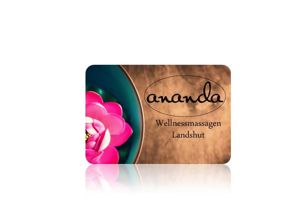 Logo von Ananda - Massagestudio für Wellness in Landshut