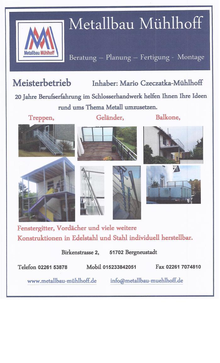 Metallbau Mühlhoff