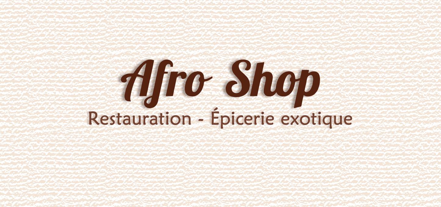 Afro Shop restauration rapide et libre-service