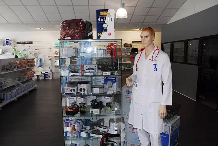 Cap vital Santé Saint-Malo Emeraude Matériel Médical