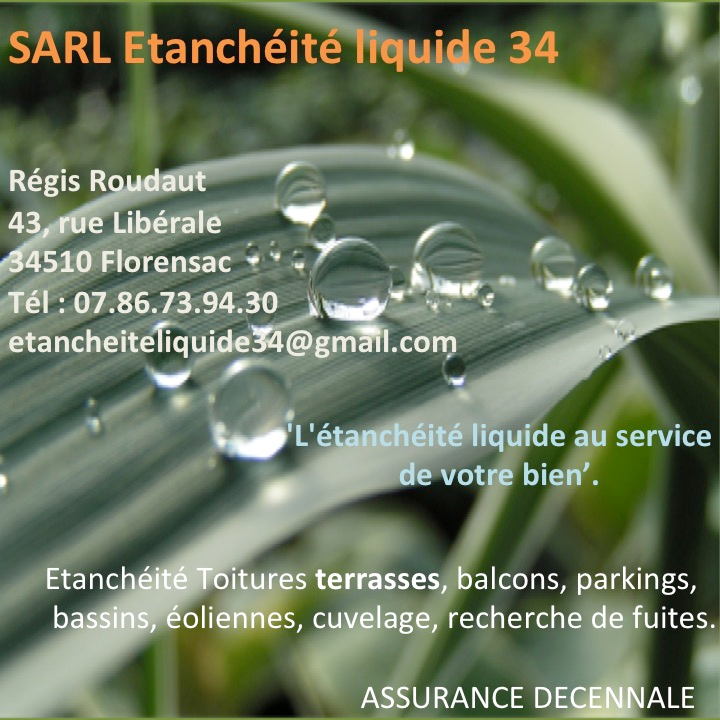 Sarl Etanchéité liquide 34