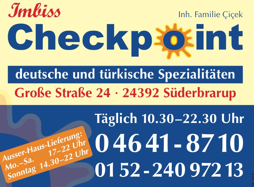 Checkpoint Süderbrarup Süderbrarup
