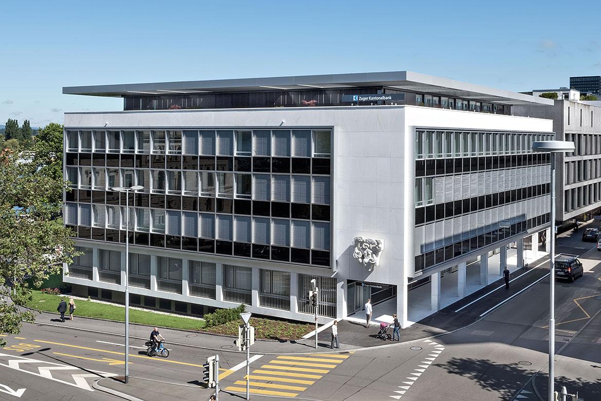 Zuger Kantonalbank Geschäftsstelle Zug-Postplatz