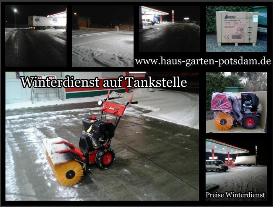 Wir sorgen eine für zuverlässige Reinigung, Schneeräumung und die Eisbeseitigung Ihrer öffentlichen Verkehrsflächen. Hauseigentümer in Potsdam sind für die Reinigung des Gehwegs  bei Schnee und Eis