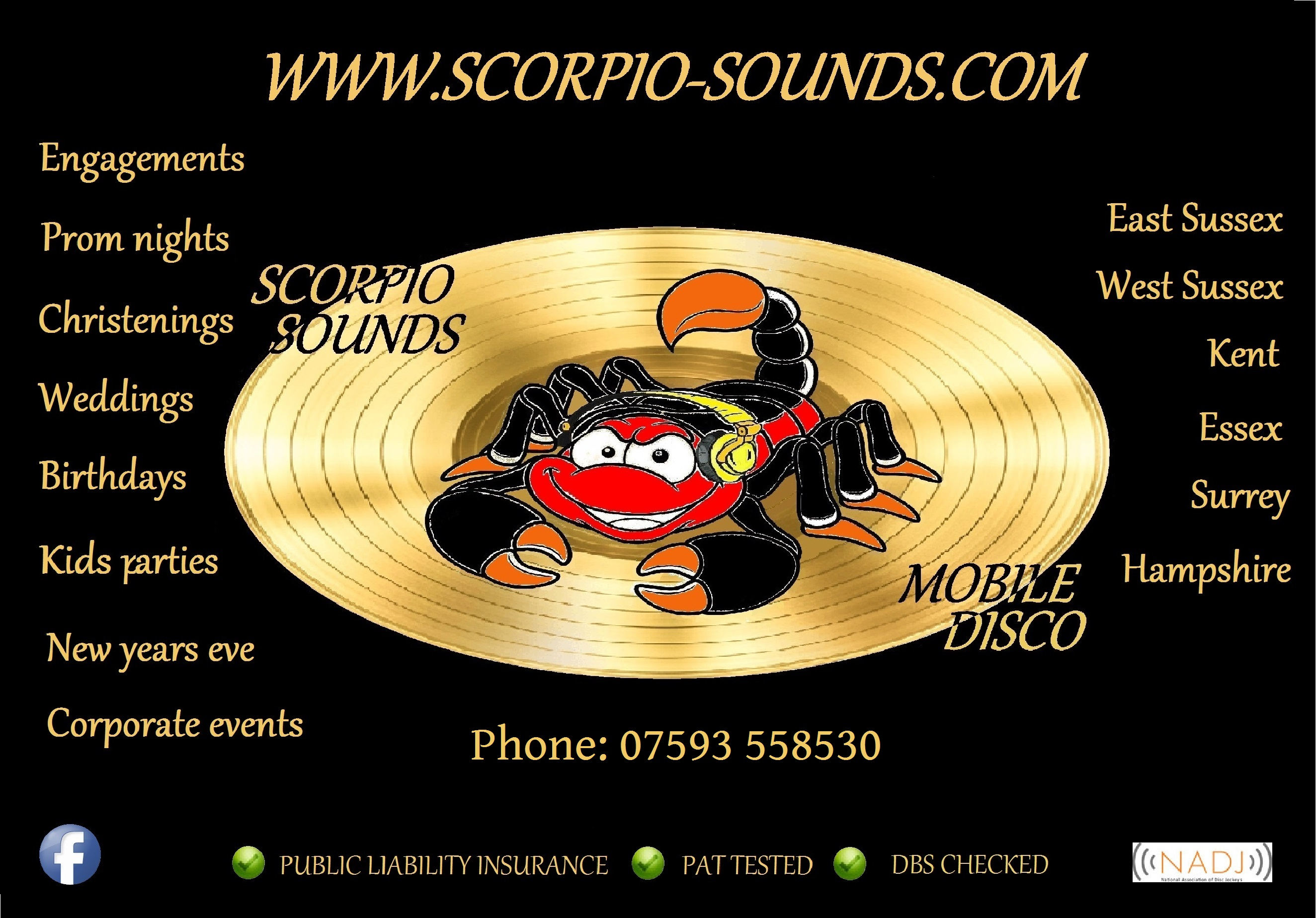 image of Scorpio sounds