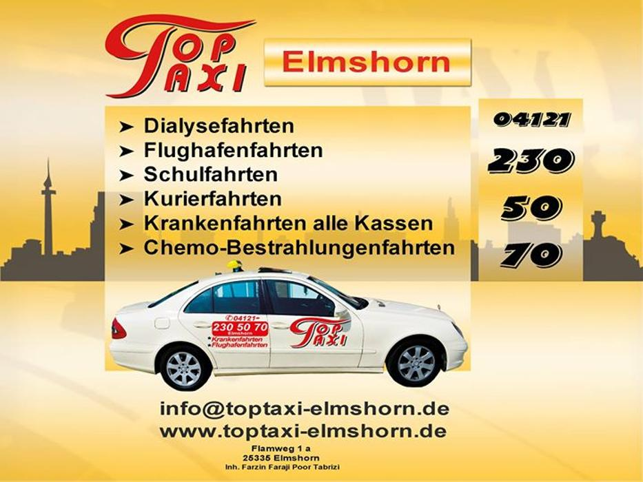 top taxi elmshorn elmshorn flamweg 1a ffnungszeiten angebote. Black Bedroom Furniture Sets. Home Design Ideas