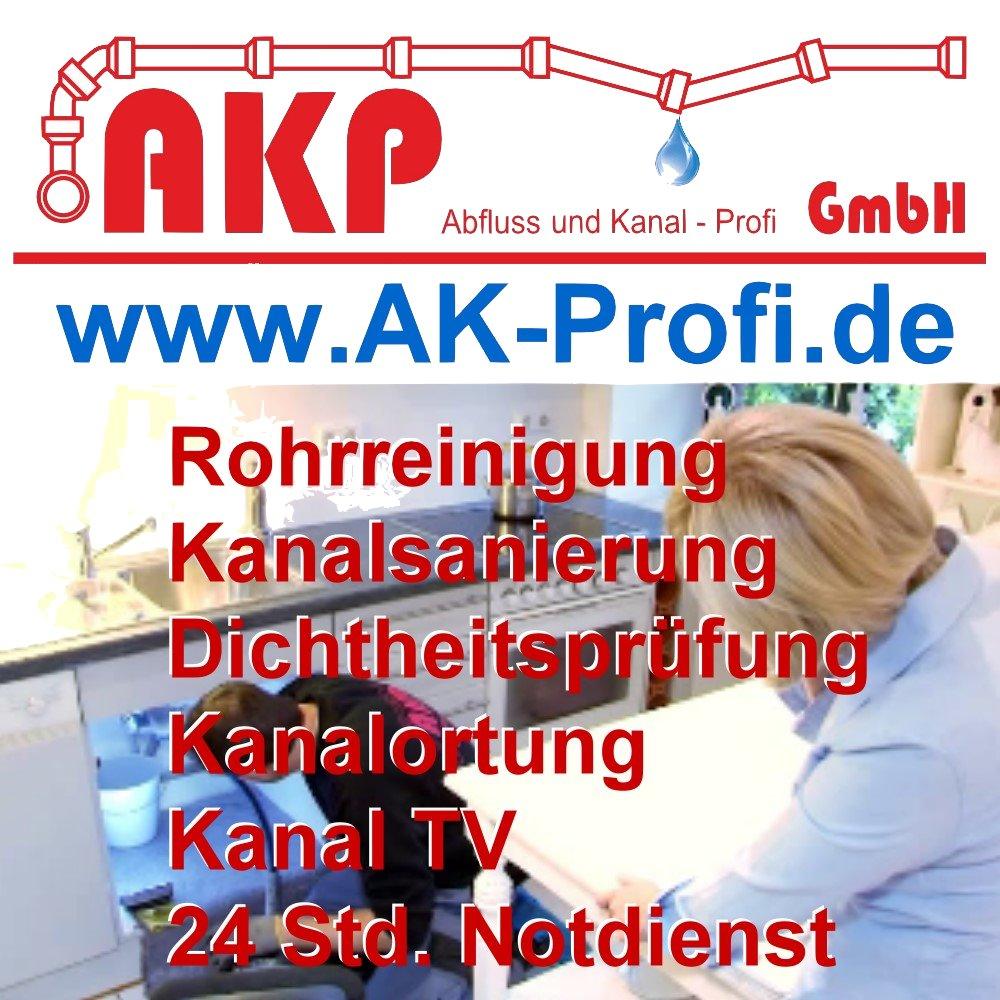 AKP GmbH - Rohrreinigung - Kanalsanierung - Kanaltechnik