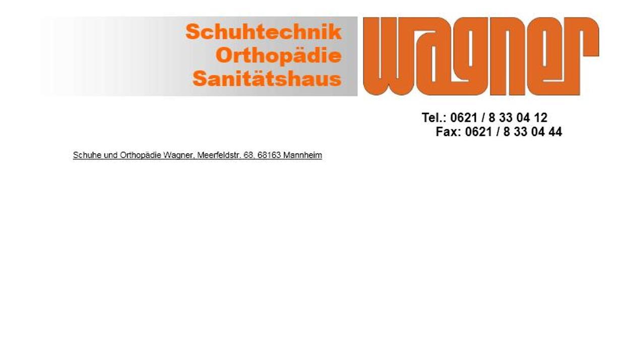 Bild zu Schuhe & Orthopädie Wagner in Mannheim