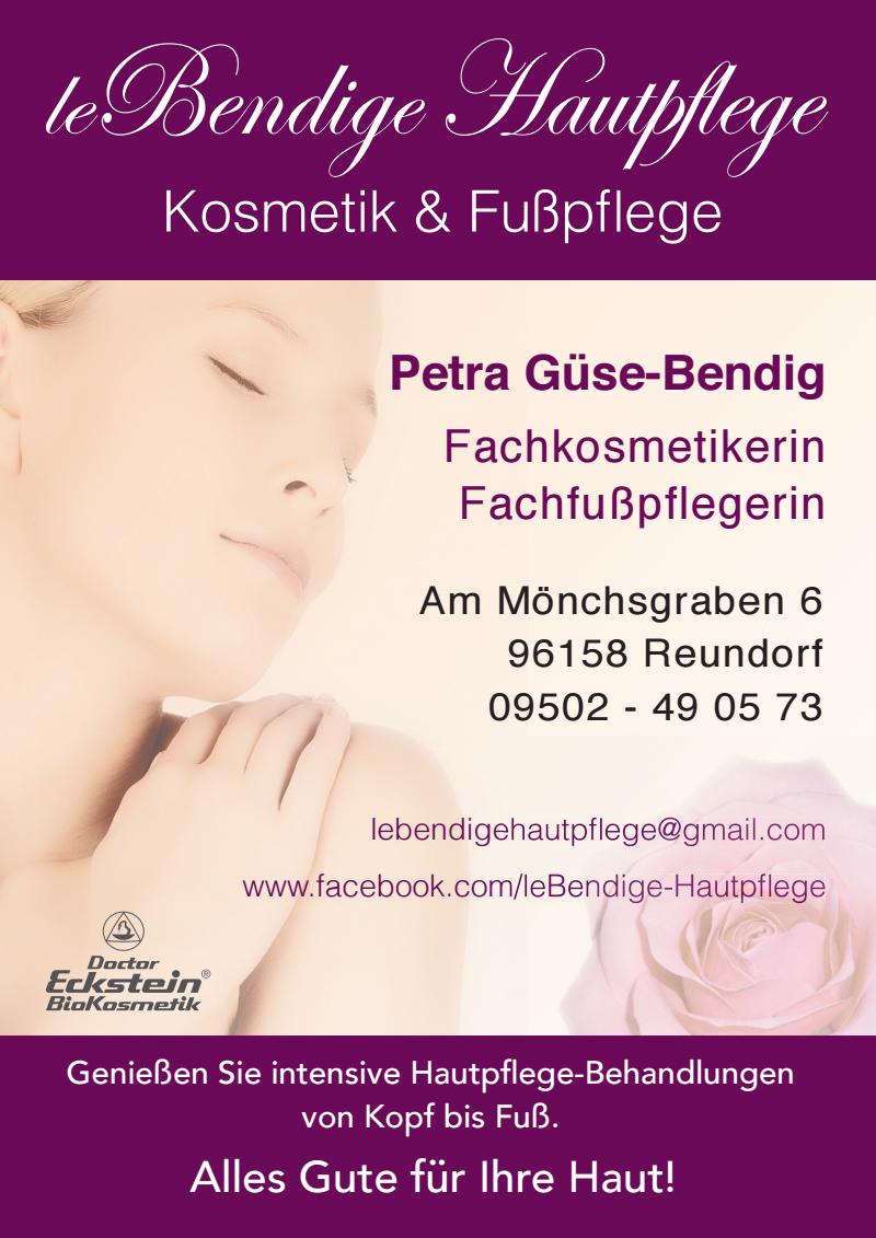 leBendige Hautpflege Kosmetik & Fußpflegepraxis