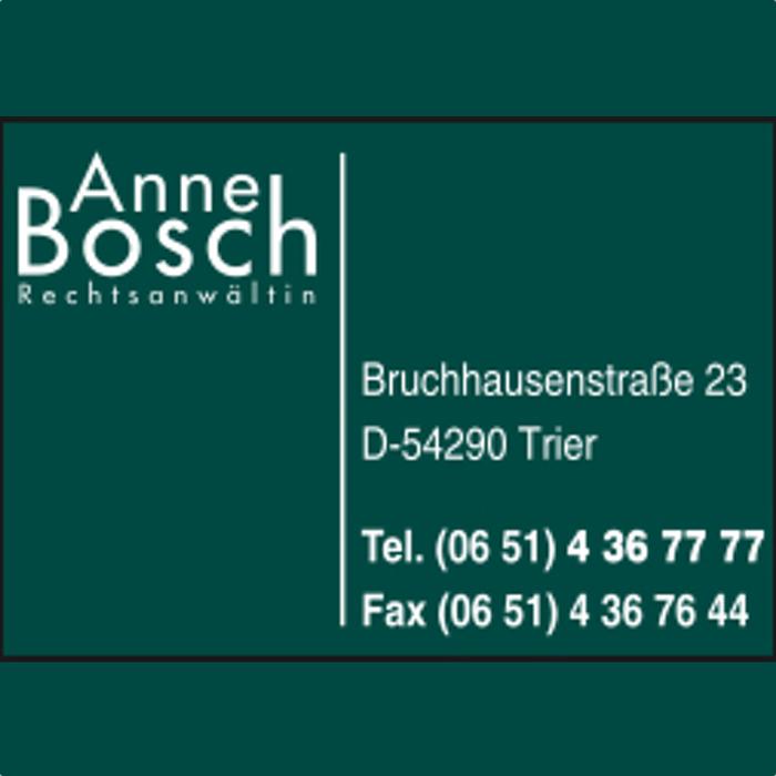Bild zu Anne Bosch Rechtsanwältin in Trier