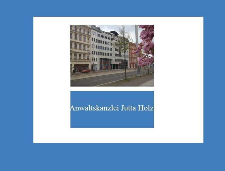 Anwaltskanzlei Jutta Holz