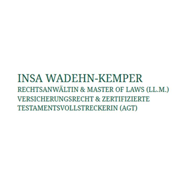 Bild zu Insa Wadehn-Kemper, Rechtsanwältin & Master of Laws (LL.M.) Versicherungsrecht in Bad Zwischenahn