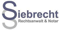 Rechtsanwalt und Notar Jürgen Siebrecht