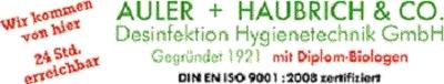 AULER + HAUBRICH & CO. Schädlingsbekämpfung & Desinfektion GmbH Mannheim