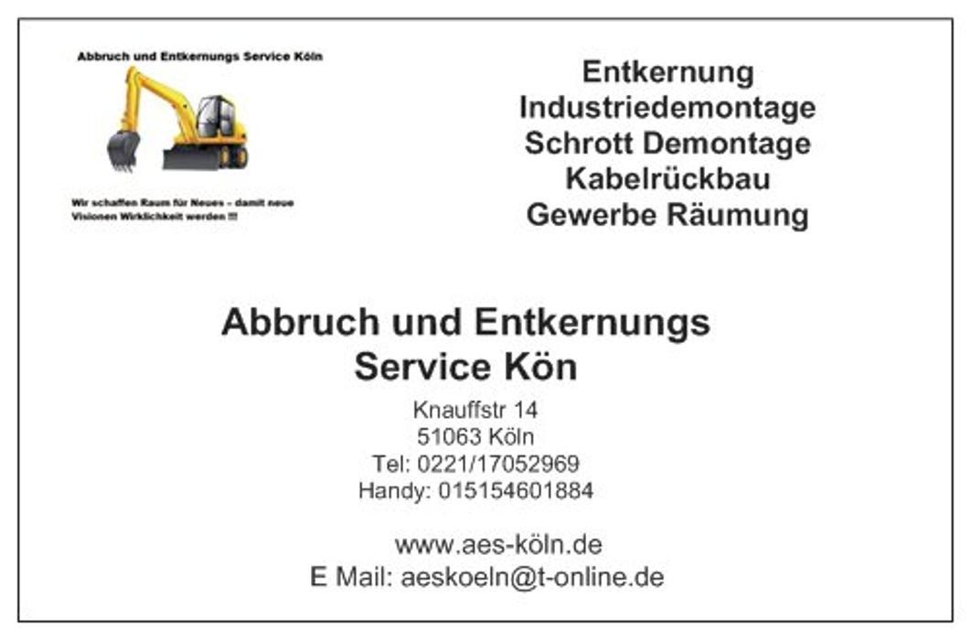 Bild zu AES Abbruch und Entkernungs Servcice Köln in Köln