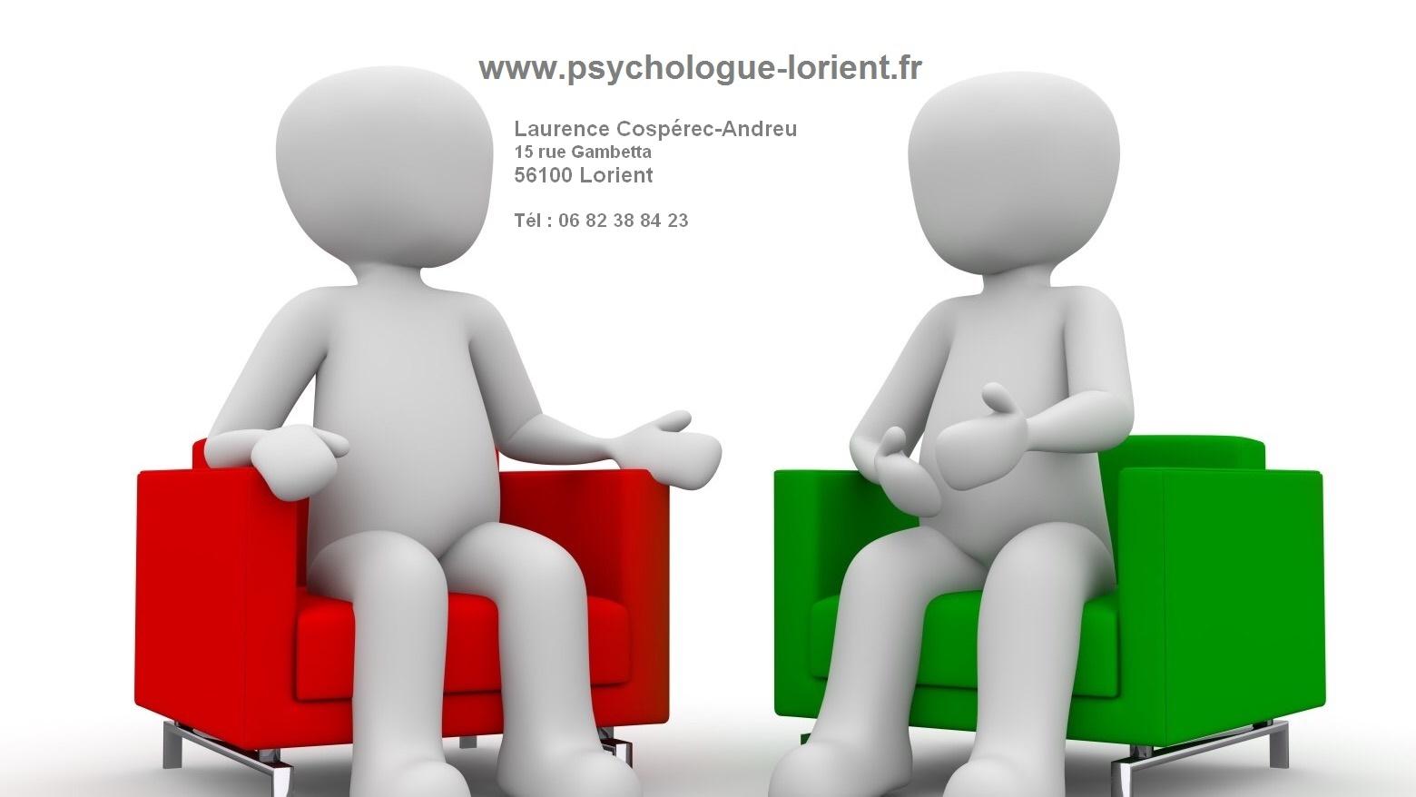 Cospérec-Andreu Laurence, Psychologue de l'enfant, de l'adulte et de la famille à Lorient