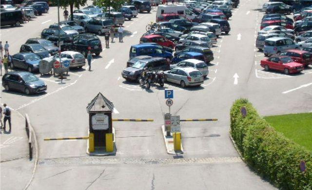 CONTIPARK Parkplatz Salzbergwerk