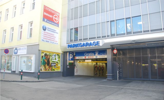 CONTIPARK Tiefgarage Interspar Meidling