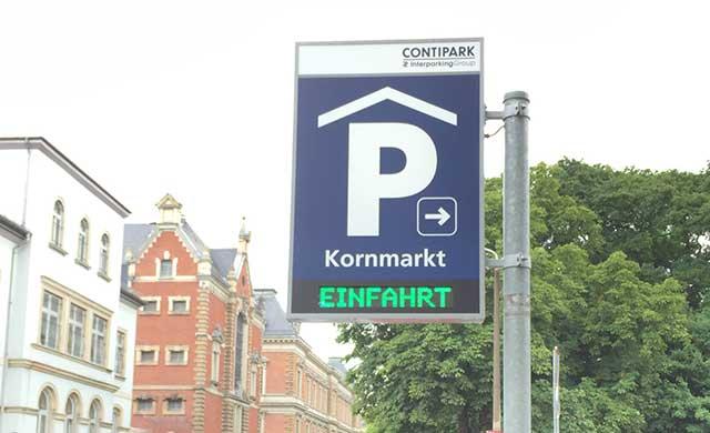 CONTIPARK Tiefgarage Kornmarkt
