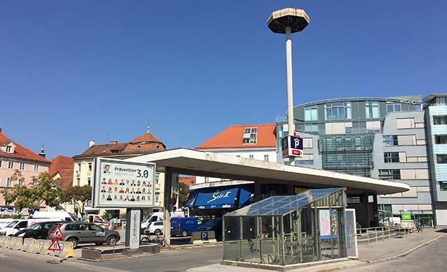 CONTIPARK Tiefgarage Andreas-Hofer-Platz