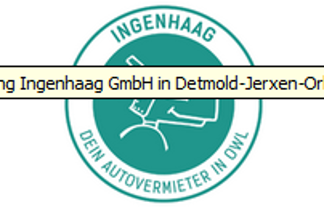 Bild zu Autovermietung INGENHAAG GmbH in Detmold