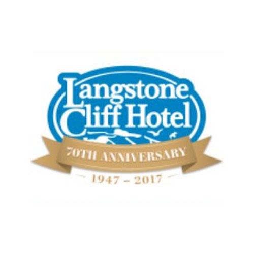 Langstone Cliff Hotel, Devon Logo