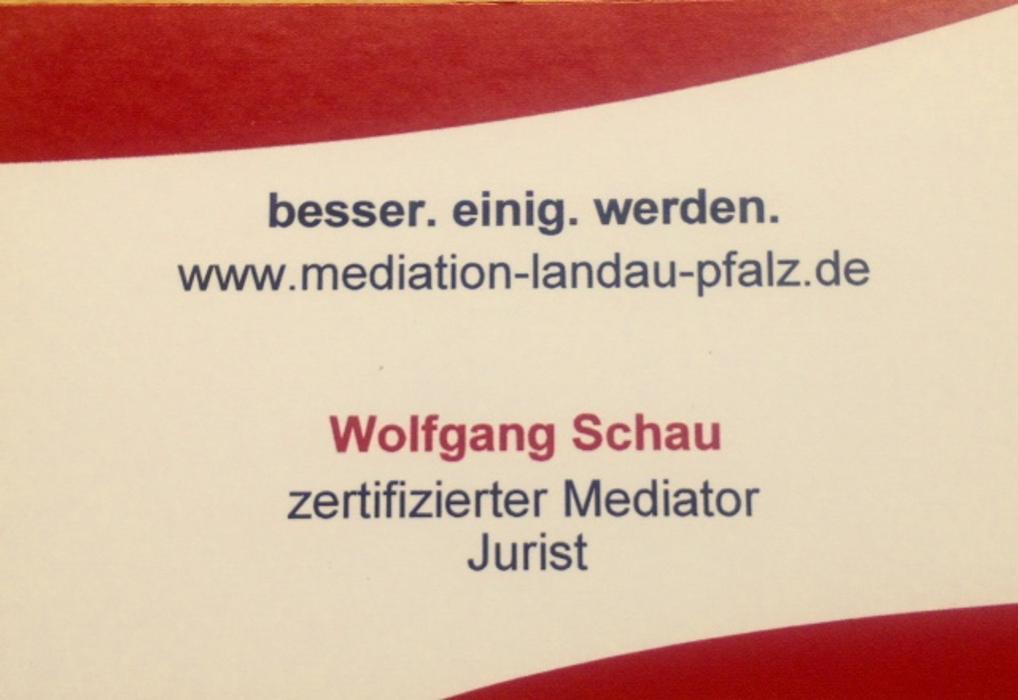 Bild zu Rechtsanwalt Wolfgang Schau in Landau in der Pfalz
