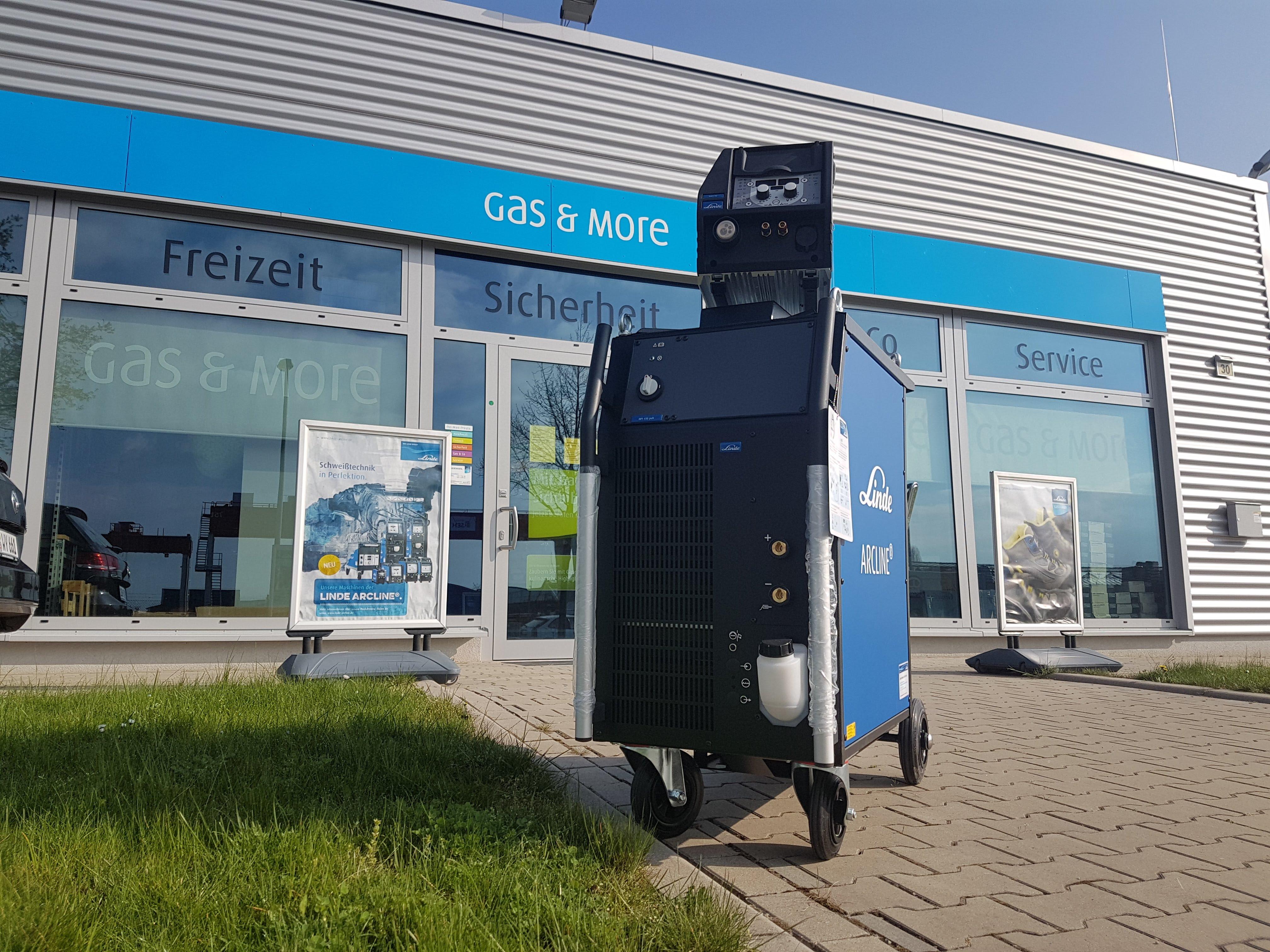 Gas & More Zentrum Hannover eine Nl. der Linde Schweisstechnik GmbH
