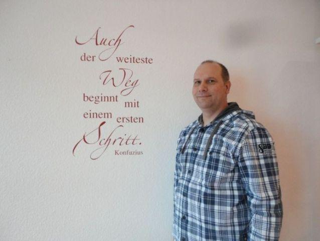 Der Logopäde Olaf Stoll