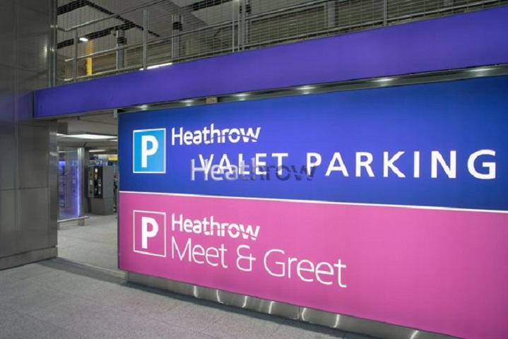 Heathrow Short Stay Parking Terminal 2 Hounslow 03443 351000