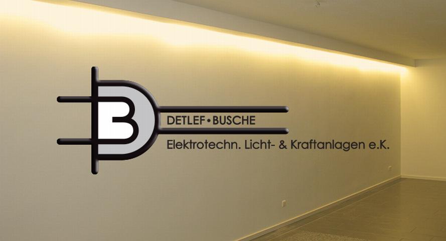 Detlef Busche Elektrotechnische Licht- & Kraftanlagen e.K.