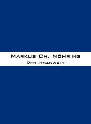 Markus Ch. Nöhring Rechtsanwalt
