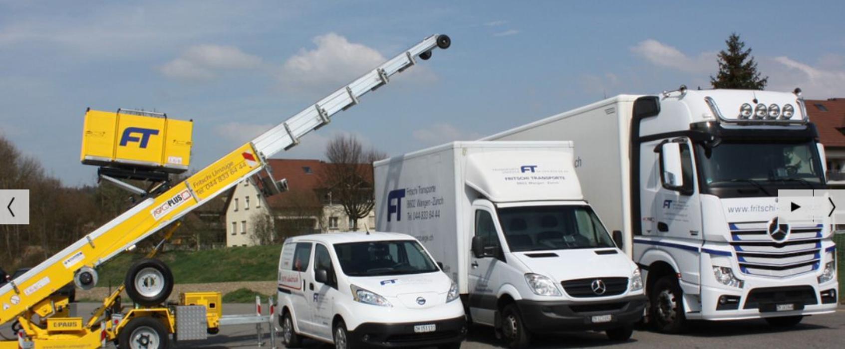 Fritschi Transporte Umzuge Ag Wangen Bei Dubendorf