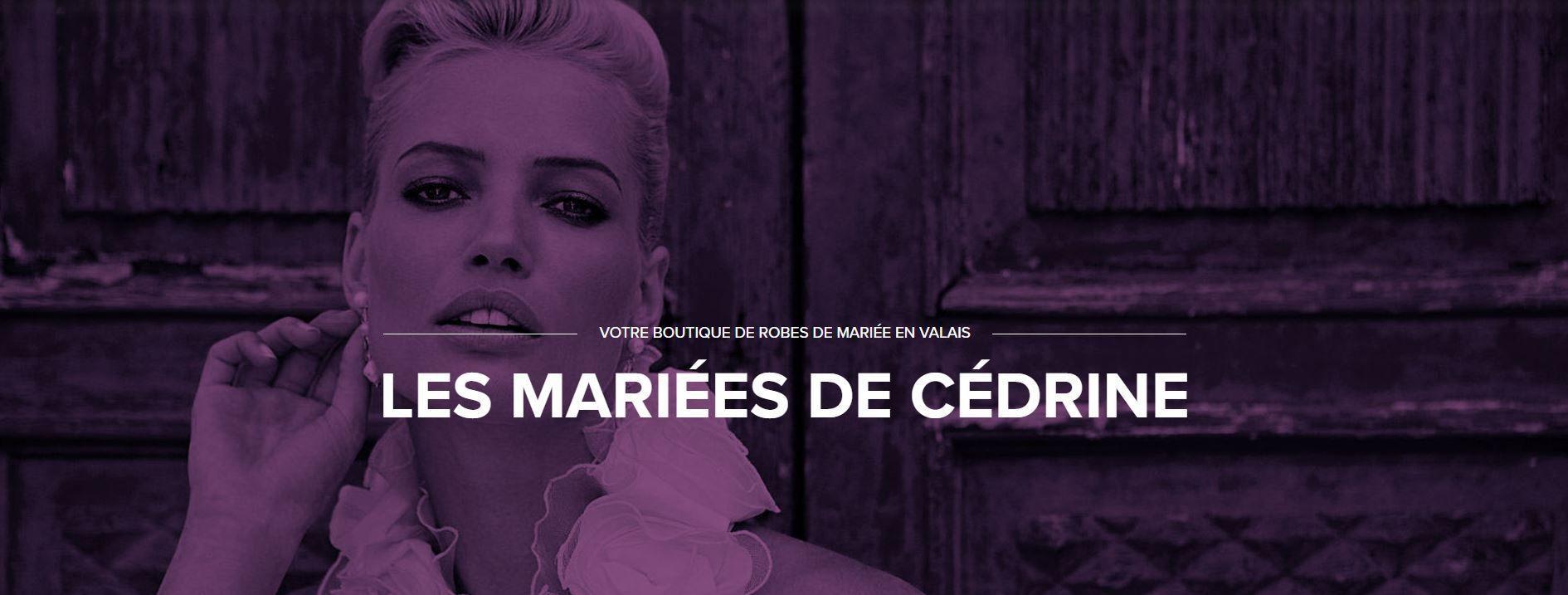 Les Mariées de Cédrine