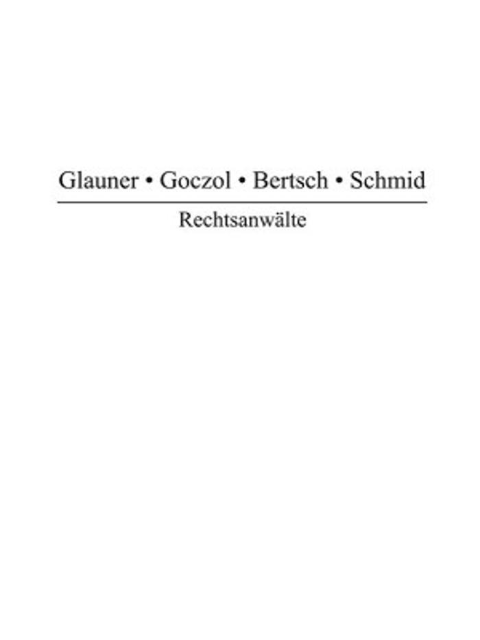 Bild zu Anwaltskanzlei Glauner, Goczol, Bertsch & Schmid in Stuttgart